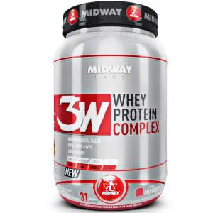 3W Whey Protein Complex 930 G - MidWay por R$ 75
