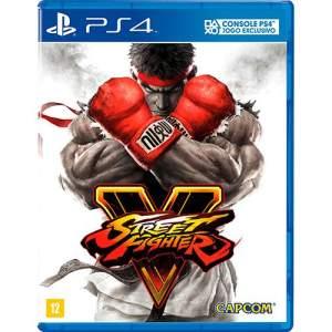 Game Street Fighter V - PS4 por R$ 50
