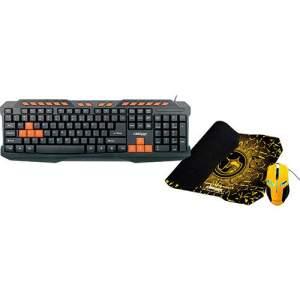 Combo Gamer - Mouse Gaming + Mouse Pad Gamer + Teclado Gamer por R$ 60