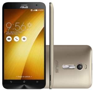Smartphone Asus Zenfone 2 32GB ZE551ML Desbloqueado Dourado - R$ 939,06