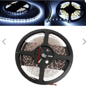 5m branco luz 3528 SMD LED faixa não-impermeável 12V DC 300 LED por R$ 20