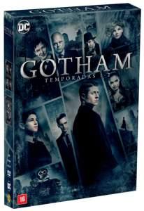 DVD Gotham - 1ª e 2ª Temporada - 12 Discos por R$ 79,90