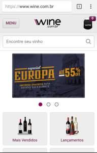 Vinhos com até 55% de desconto com frete grátis pra região sul e sudeste