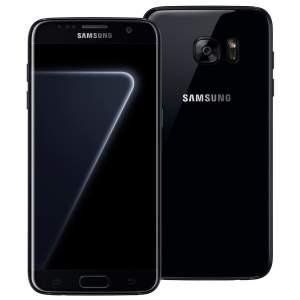 """Smartphone Samsung Galaxy S7 edge Black Piano com 128GB, Tela 5.5"""", Android 6.0, 4G, Câmera 12MP, Processador Octa-Core e 4GB RAM"""