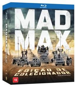 Blu-Ray Mad Max - Edição de Colecionador - 4 Discos R$50