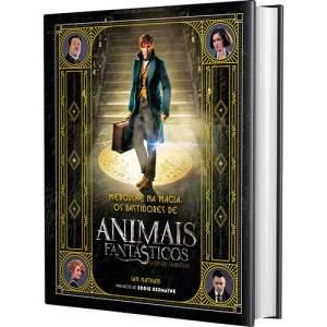 Livro - Mergulhe na Magia: Os Bastidores de Animais fantásticos e Onde Habitam  - R$15