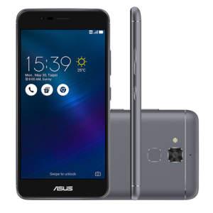 SMARTPHONE ASUS ZENFONE 3 MAX CINZA QUAD CORE 16GB, ASUS-ZC520TL R$697