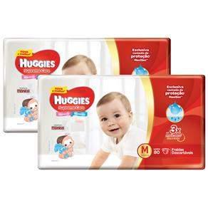 Fralda Huggies Supreme Care - 3 pacotes por R$ 119,70 - Tamanhos M, G e XG