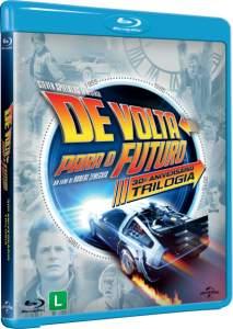 Blu-Ray de Volta Para o Futuro - Trilogia - 3 Discos