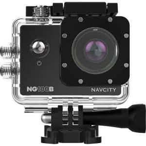 Câmera de Aventura Navcity NG-100B 12MP Full HD com Case à Prova d'água 30m + Selfie Stick por R$ 100