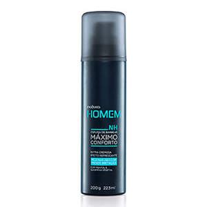 Espuma de Barbear Máximo Conforto Natura Homem - 200g R$ 30