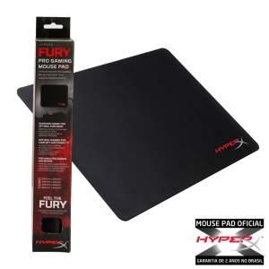 Mousepad Gamer HyperX Fury M HX-MPFP-M - R$40