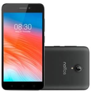 ( FRETE GRATIS ) Celular Smartphone TP-LINK NEFFOS Y5 Cinza- Dual Chip, 4G, Tela 5, Câmera 8MP + Frontal 2MP,Quad-Core 1.3 GHZ, 16GB, 2GB RAM, Android 6.0