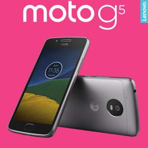 (FRETE GRATIS) Smartphone Motorola Moto G5 XT1672 Platinum com 32GB, Tela de 5'', Dual Chip, Android 7.0, 4G, Câmera 13MP, Processador Octa-Core e 2GB de RAM