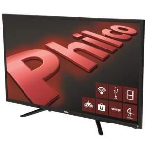 """Smart TV LED 32"""" HD Philco PH32B51DSGWA com Wi-Fi, ApToide, Som Surround, MidiaCast, Entradas HDMI e USB - R$1.099"""