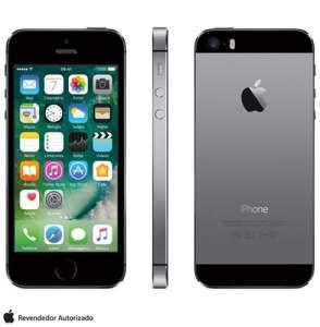 [FastShop] iPhone 5s Cinza Espacial, 4G, 16 GB e Câmera de 8 MP - R$1149