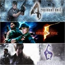 Pacote Triplo Resident Evil (4, 5 e 6) - PS4 - R$102,55