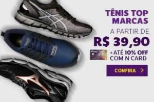 TÊNIS TOP MARCAS A PARTIR DE R$39.90
