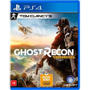 Ghost Recon Wildlands - PS4 - R$119