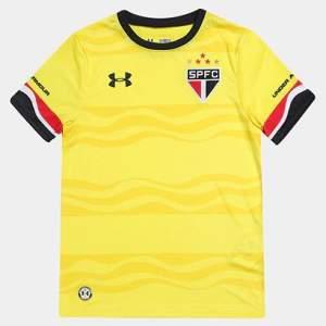 Camisa Under Armour São Paulo III 16/17 s/nº Infantil - R$50