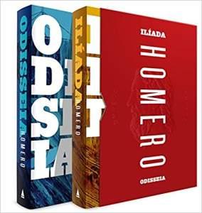 Box Deluxe Homero (Odisseia e Ilíada) por R$36,90