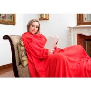 Cobertor de TV com mangas Solteiro Tamanho único - Loani - R$35