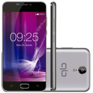 "Smartphone Qbex FLIX -  Dual Chip, 4G, Tela 5"" IPS,  por R$ 279"