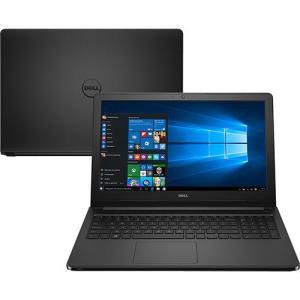 Notebook Dell Inspiron i15-5566-A10P Intel Core 6 i3 4GB 1TB por R$ 1620
