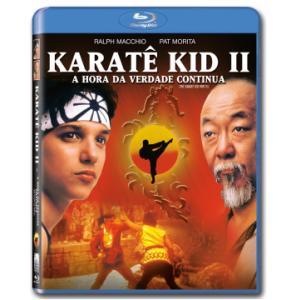Karatê Kid 2 - A Hora da Verdade Continua (Blu-Ray) por R$8,90