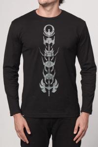 Camisetas Chico Rei Manga Longa - Masculina e Feminina - R$73,89