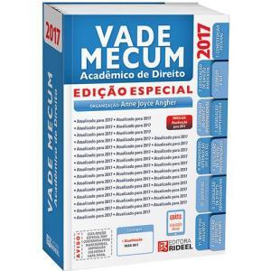 Livro - Vade Mecum Rideel - Edição Especial - 2017 - R$49,90