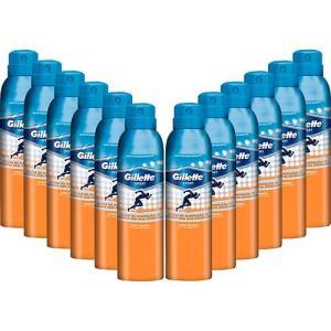 Kit com 12 Desodorantes Aerosol Gillette Sport Triumph R$ 84