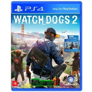 Jogo Watch Dogs 2 - PS4 - R$ 90