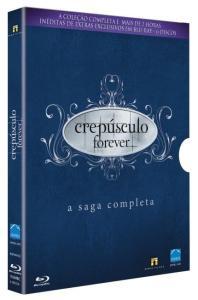 Crepúsculo Forever - A Saga Completa - 6 Discos - Blu-Ray - R$ 50