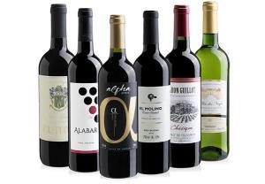 Kit de vinhos Evino (6 garrafas) - R$ 150