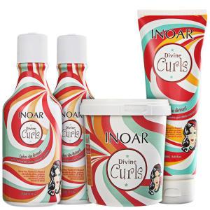 Inoar Divine Curls Full Kit (4 produtos) R$133