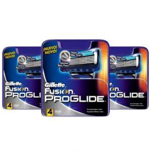 12 Cargas Gillette Proglide - 89,88