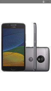 """Smartphone Moto G 5 Dual Chip Android 7.0 Tela 5"""" 32GB 4G Câmera 13MP - Platinum  R$ 689"""
