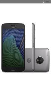"Smartphone Moto G 5 Plus Dual Chip Android 7.0 Tela 5.2"" 32GB 4G Câmera 12MP - PlatinumR$ 920"