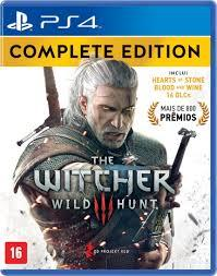 Witcher 3 Wild Hunt Complete Edition - PS4 por R$ 100
