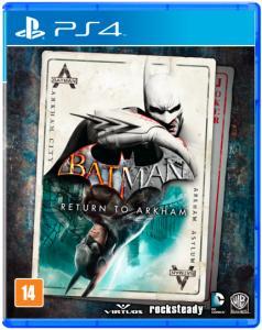 Batman Return to Arkham Edição Limitada- PS4 - $71