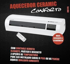 Aquecedor Elétrico Ceramic Conforto AQC415 - Cadence - 110V por R$ 216