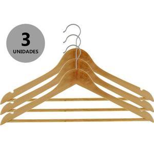 3 CABIDES DE MADEIRA - R$8,50
