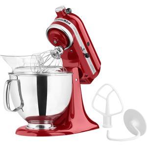 Batedeira KitchenAid Stand Mixer 10 Velocidades - Vermelha DE R$ 2.893,59 POR R$ 1.799,99
