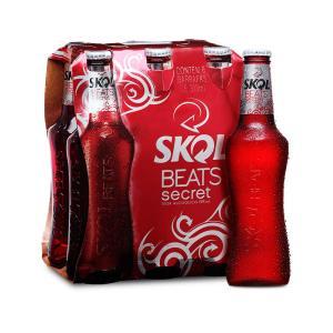 Skol Beats Secret Long Neck 313ml - Caixa com 6 Unidades - R$15