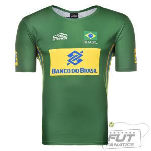 Camisa Olympikus Brasil Vôlei 2014 - R$40