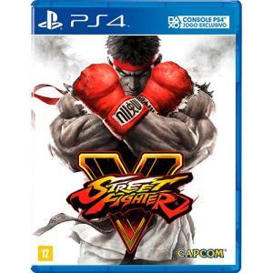 Game Street Fighter V - PS4 por R$ 39