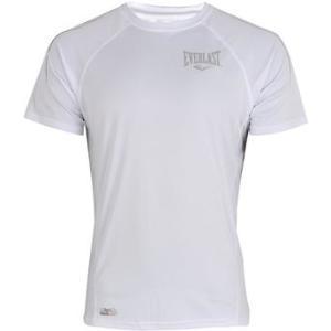 Camiseta Everlast Training Raglan Branca Masculina