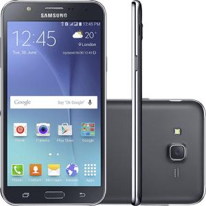 "Smartphone Samsung Galaxy J7 Duos Dual Chip Android 5.1 Tela 5.5"" 16GB 4G Câmera 13MP  R$ 663"