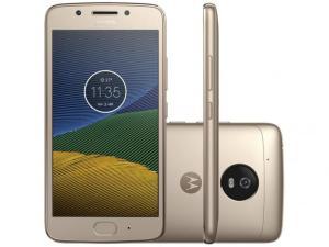 Smartphone Motorola Moto G5 32GB Ouro Dual Chip 4G por R$ 849